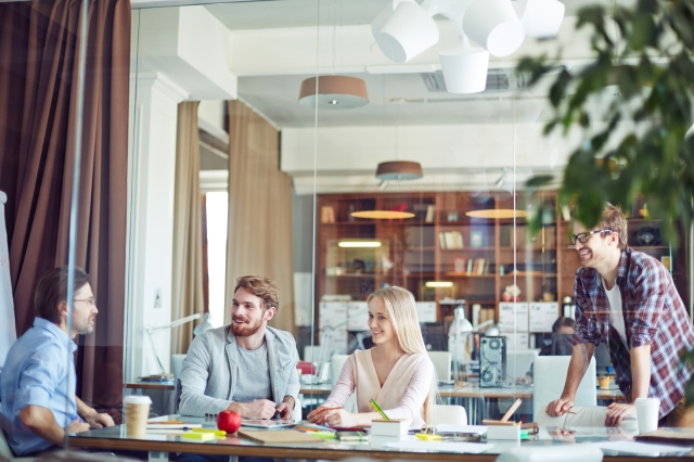 Interaction in office